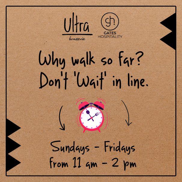 Why walk so far?